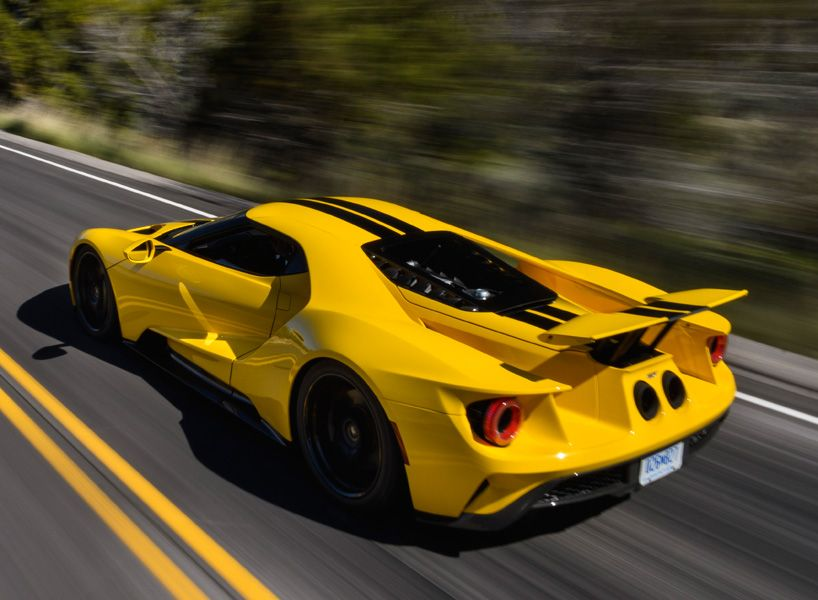 When The Ford Gt Changes Modes From High To Low Ride Height Changes In Spring Rates Matching Damper Settings And Active Aerodynamics Come Together To