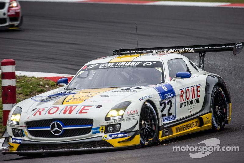 22 Rowe Racing Mercedes Benz Sls Amg Gt3 Maro Engel Jan