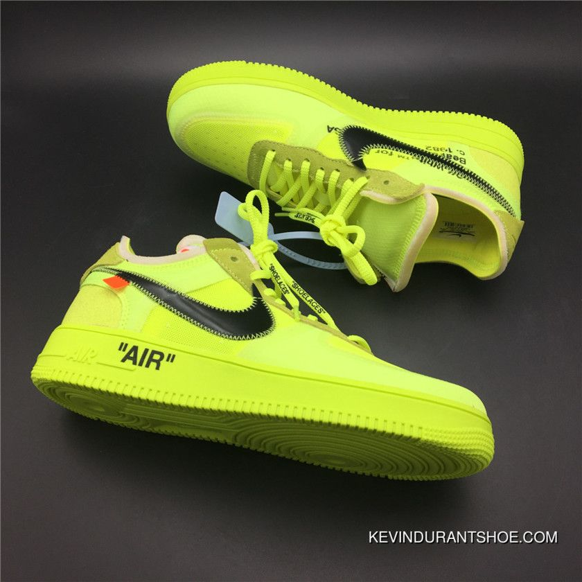 Low Air One Off White Cone Deals Black Top In Force Volt X Nike TJc3K1lF
