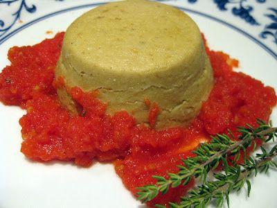 La Belle Auberge: Flan di melanzane con coulis di pomodoro