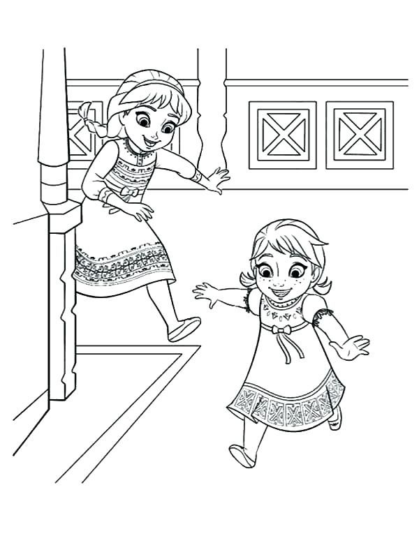 Baby Princess Elsa Coloring Pages Coloring Pictures Of Baby