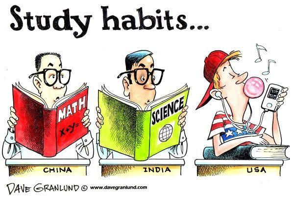 Study Habits Teaching Humor
