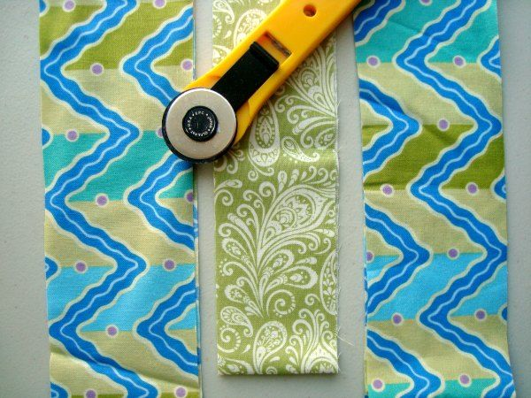 Cutting Fabric Strips and Squares |