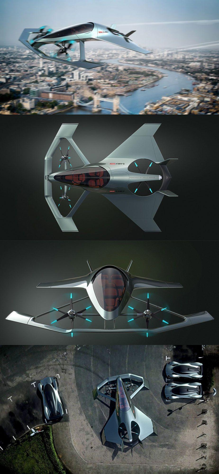 Aston Martin Volante Vision Concept Aircraft Designideas Designinspiration Design Productdesign De Aston Martin Volante Aston Martin Aircraft Design