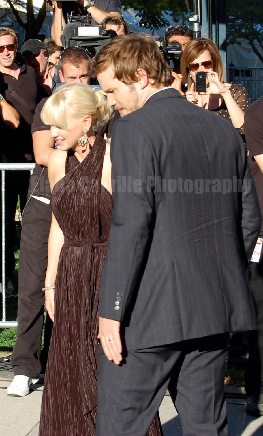Chris Pratt and Anna Faris - TIFF 2011