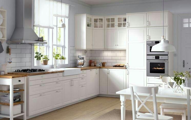 Küchenrückwand Ikea ~ Bodbyn weiß ikea kitchens konyha