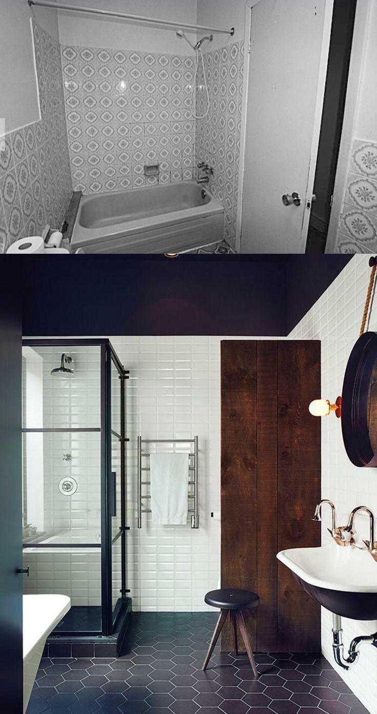 Before After Scandinavian Inspired Bathroom Remodel In Montreal Bathrooms Remodel Scandinavian Inspired Remodel