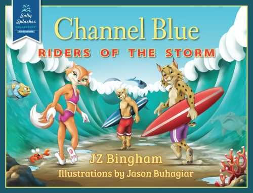 Channel Blue: Riders of the Storm (9781939454072) — Pulled in by standout illustrations, kids are introduced to life lessons such as perseverance, sportsmanship, and overcoming adversity. Read the review: http://fwdrv.ws/1ptE3m2
