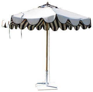 Santa Barbara Unbrella   Modern   Outdoor Umbrellas   Phoenix   By Jamie  Herzlinger