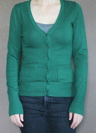 5b646087d8122c grüne Strickjacke (5€) | Kleiderkreisel | Strickjacke, Kleider und ...