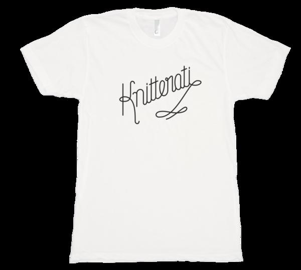 Knitterati t-shirt from Cooperative Press