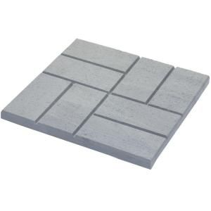 Emsco 16 X 16 In Plastic And Lightweight Brick Pattern Resin Patio Pavers 12 Pack 2157hd At The Home Depot Paver Patio Resin Patio Brick Patterns Patio