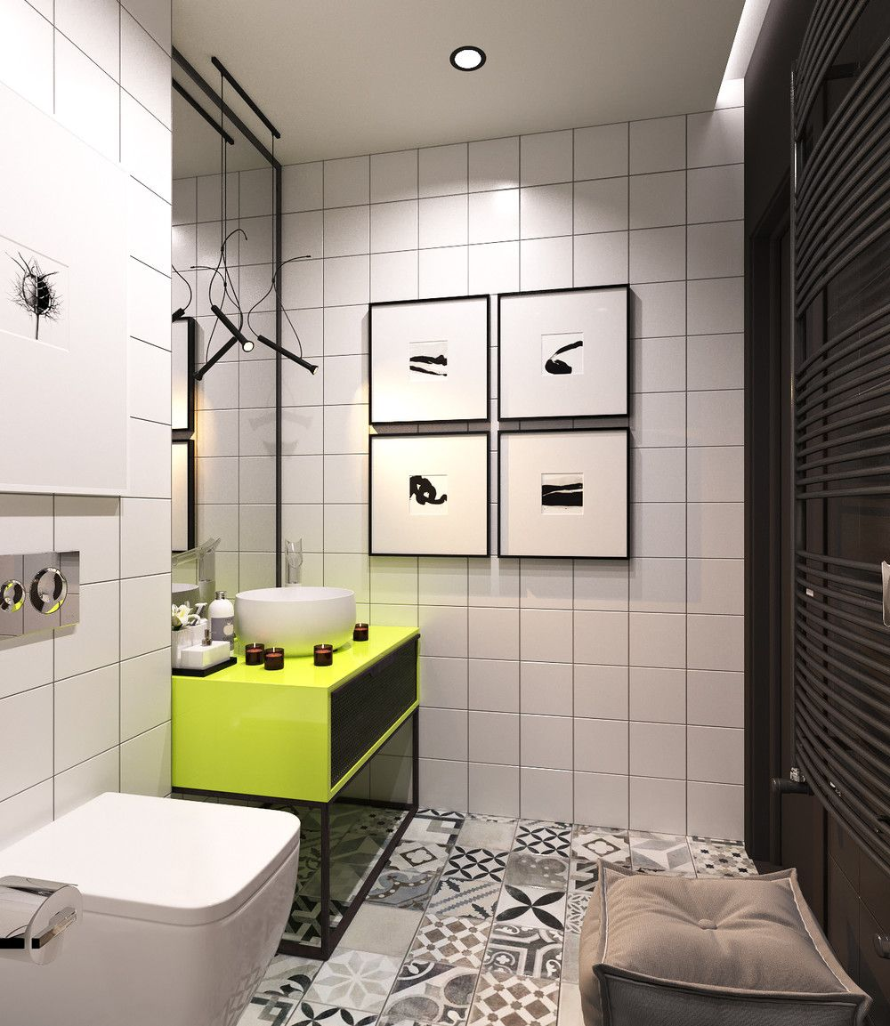 Small Minimalist Bathroom Designs Decorated With Variety