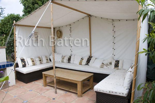 Moroccan Tent, Fernlea Rd Garden, Essex - N106 | Outdoor Color ...
