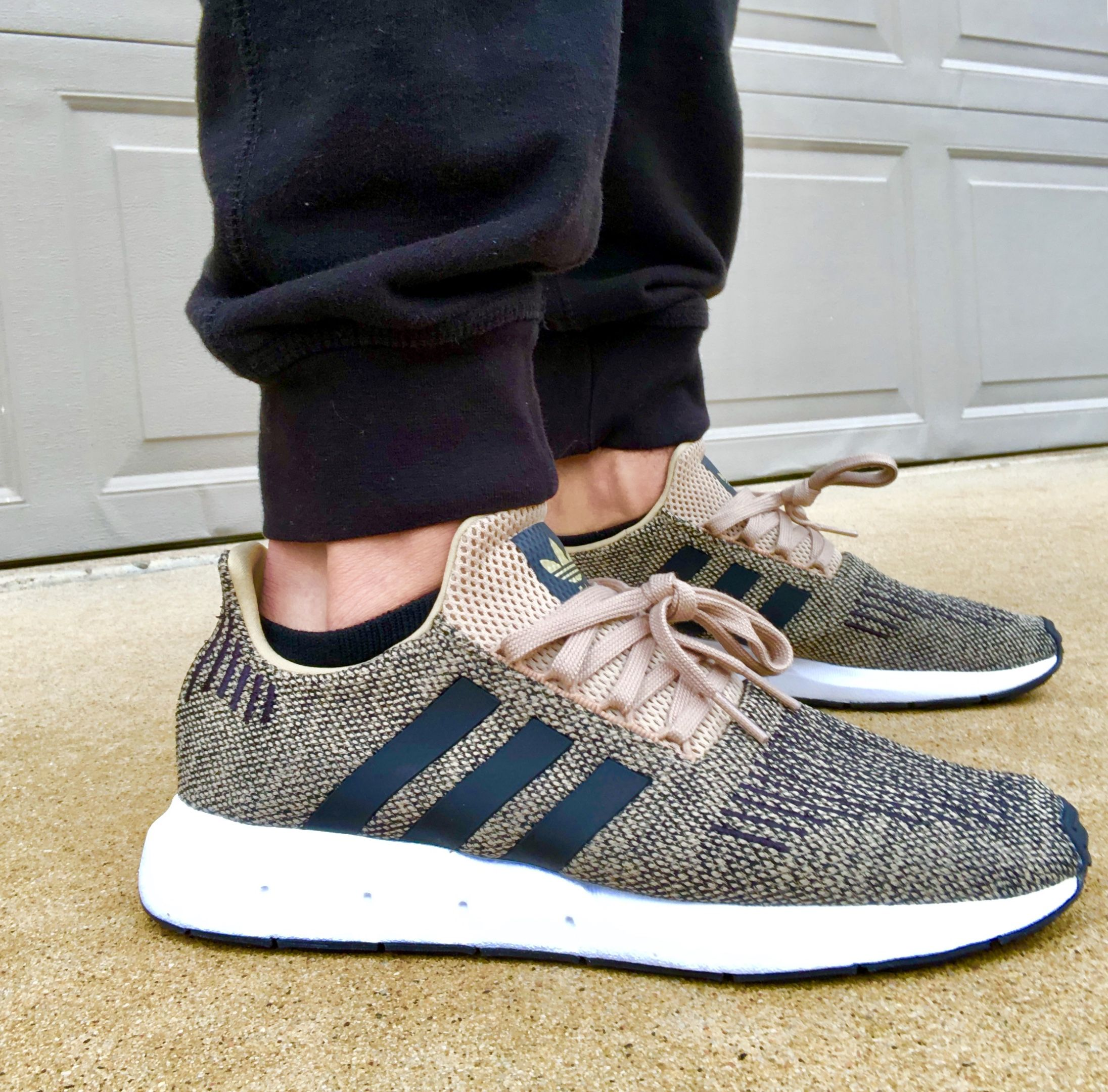 2192c5427 Adidas Swift Run Raw Gold!