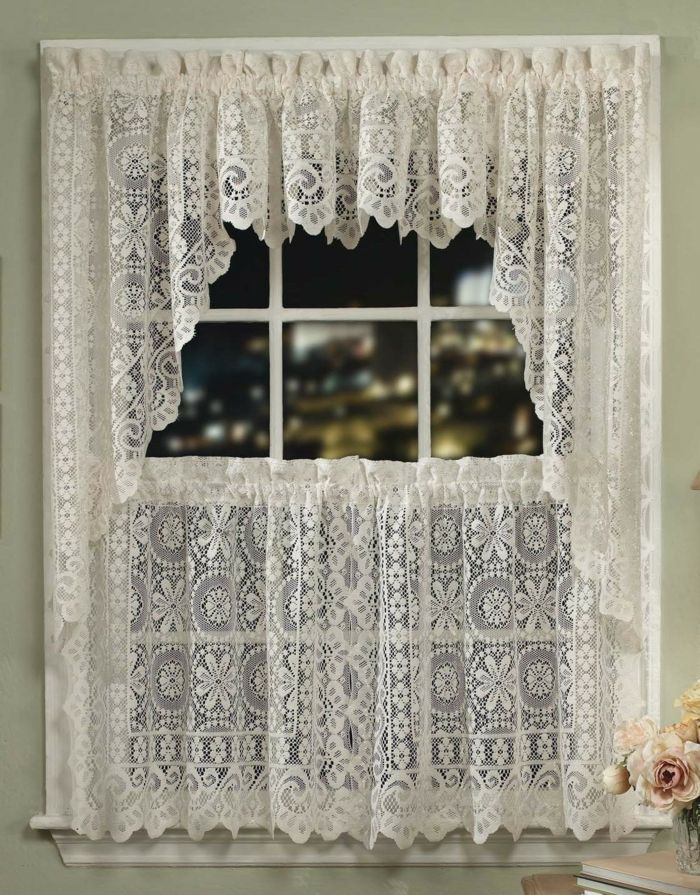 h kelgardinen fenster dekorieren h keln pinterest crochet curtains and crochet. Black Bedroom Furniture Sets. Home Design Ideas