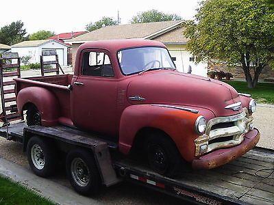 Chevrolet : Pickups SHOP TRUCK 1954 CHEVROLET PICKUP, BARN ...