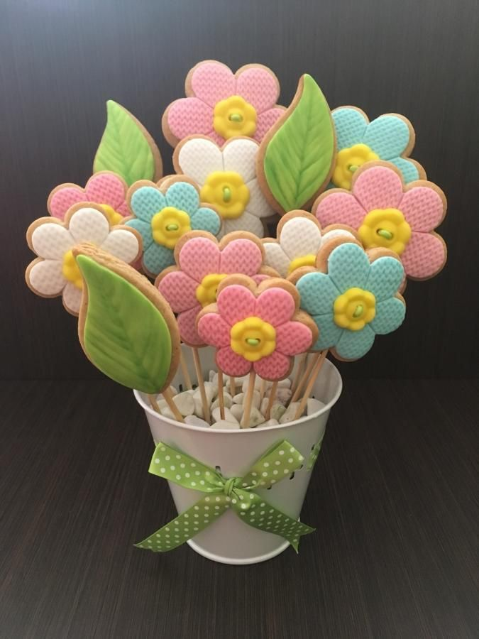 Cookie bouquet | Cookies | Pinterest | Cookie bouquet, Cake and ...