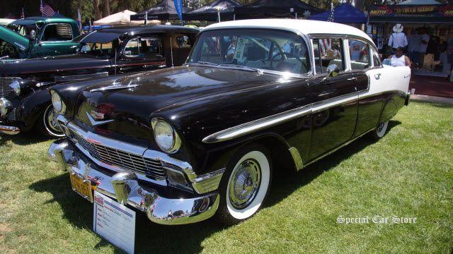 Chevrolet Bel Air Door Family Car At Steve McQueen Car Show - Chino hills car show
