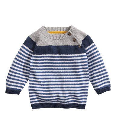 00f71cfac Striped Knit Sweater