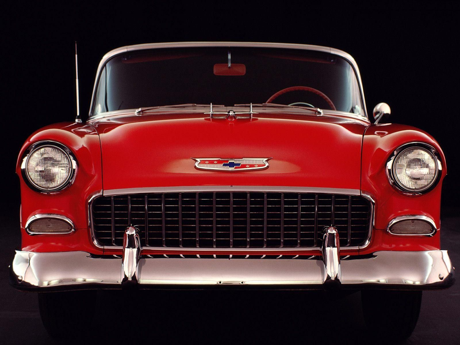Vintage Car | An American classic car 1955 Chevrolet free desktop ...