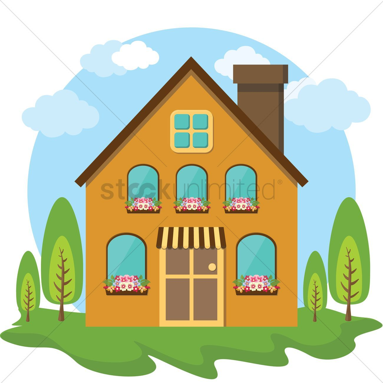 Chimney Home Icon Home Icon House Outline House Silhouette
