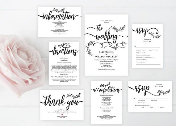 Sale we do wedding invitation cards suite instant download pdf we do wedding invitation cards suite instant download pdf editable template kraft rustic calligraphy stopboris Image collections
