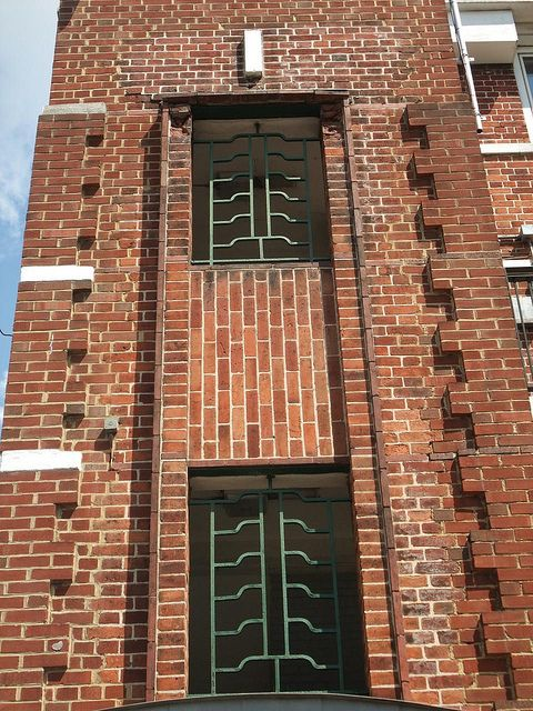 London art deco window and brick detail by mermaid99  via FlickrLondon art deco window and brick detail by mermaid99  via Flickr  . Art Deco Furniture North London. Home Design Ideas