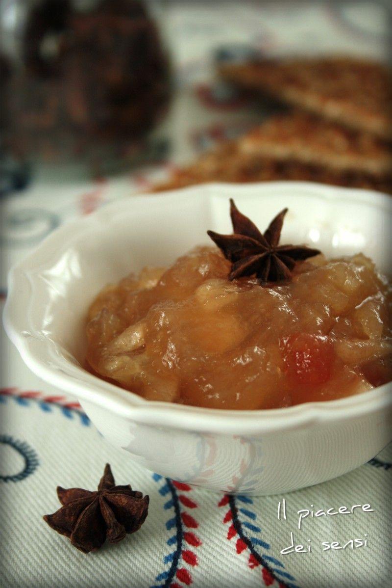 Confettura di mele con anice stellato e papaya ricetta for Cose per cucinare 94