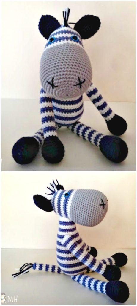 Free Crochet Zebra Patterns To Try This Season | Crochet ...