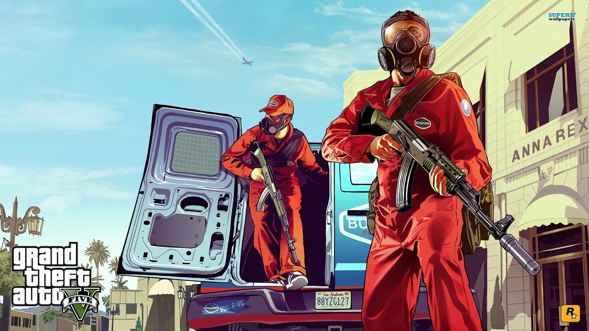 grand theft auto v computer wallpapers, desktop backgrounds 2560
