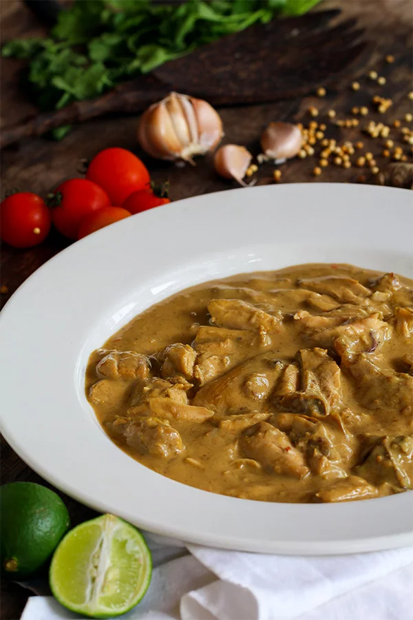 balinese chicken curry  traditional low carb curry  low