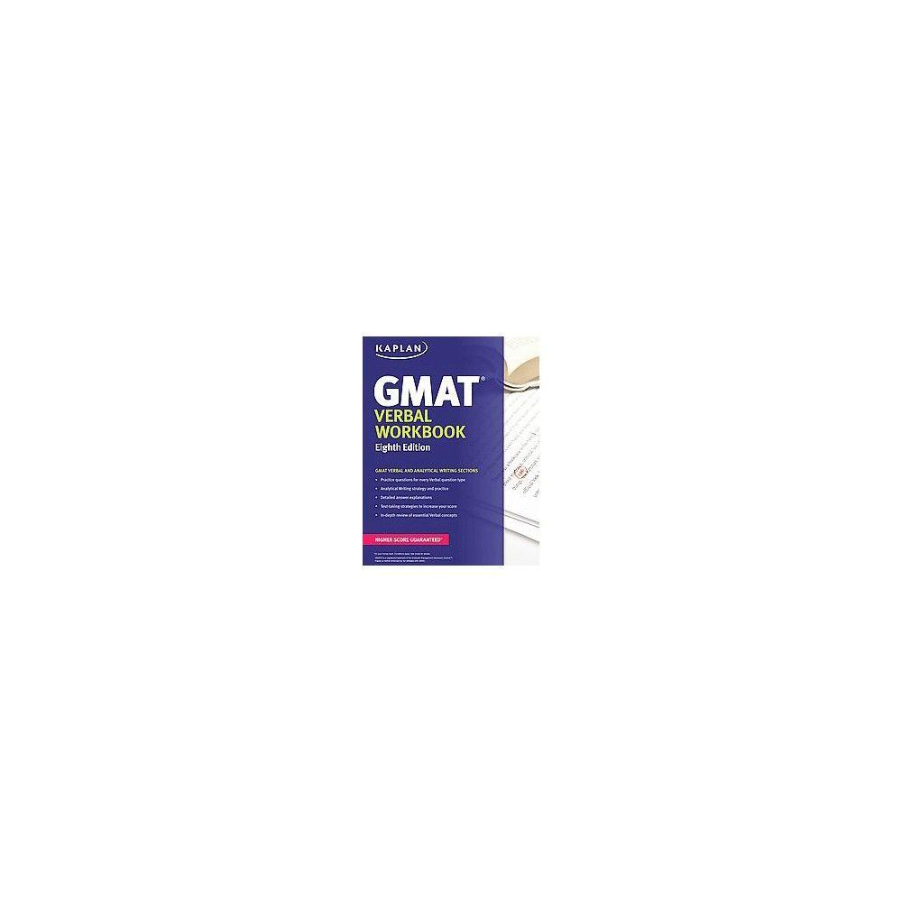 Workbooks kaplan gre verbal workbook : Kaplan Gmat Verbal ( Kaplan Gmat Verbal) (Workbook) (Paperback ...