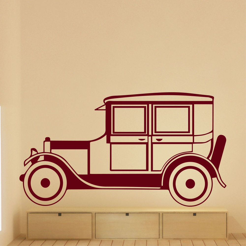 Beautiful Vintage Car Wall Decor Ideas - The Wall Art Decorations ...