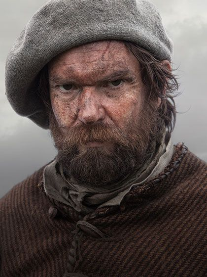 If you don't love Murtagh by now, you must be a heartless English spy.