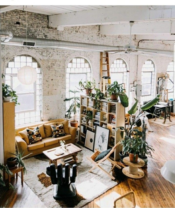 Pin by Emily Wade Architect on Industrial Loft Design Pinterest