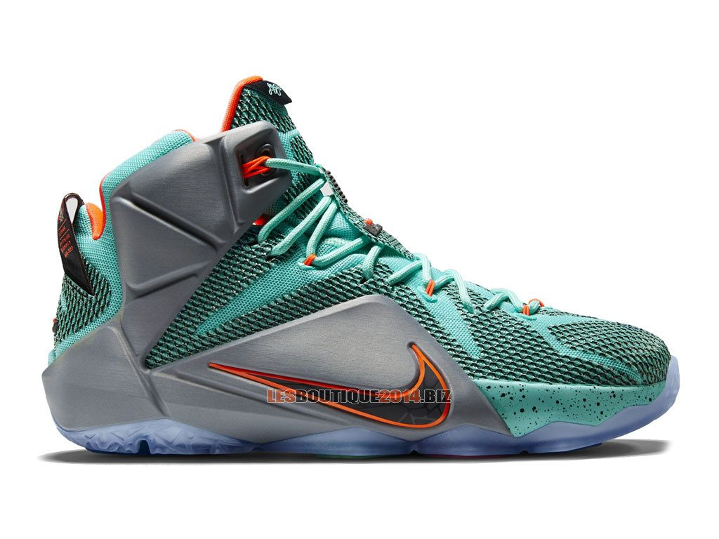 new products 135f3 d85ca ... switzerland nike lebron 12 xii nsrl chaussures nike baskets pas cher  pour homme hyper turquoise metallic