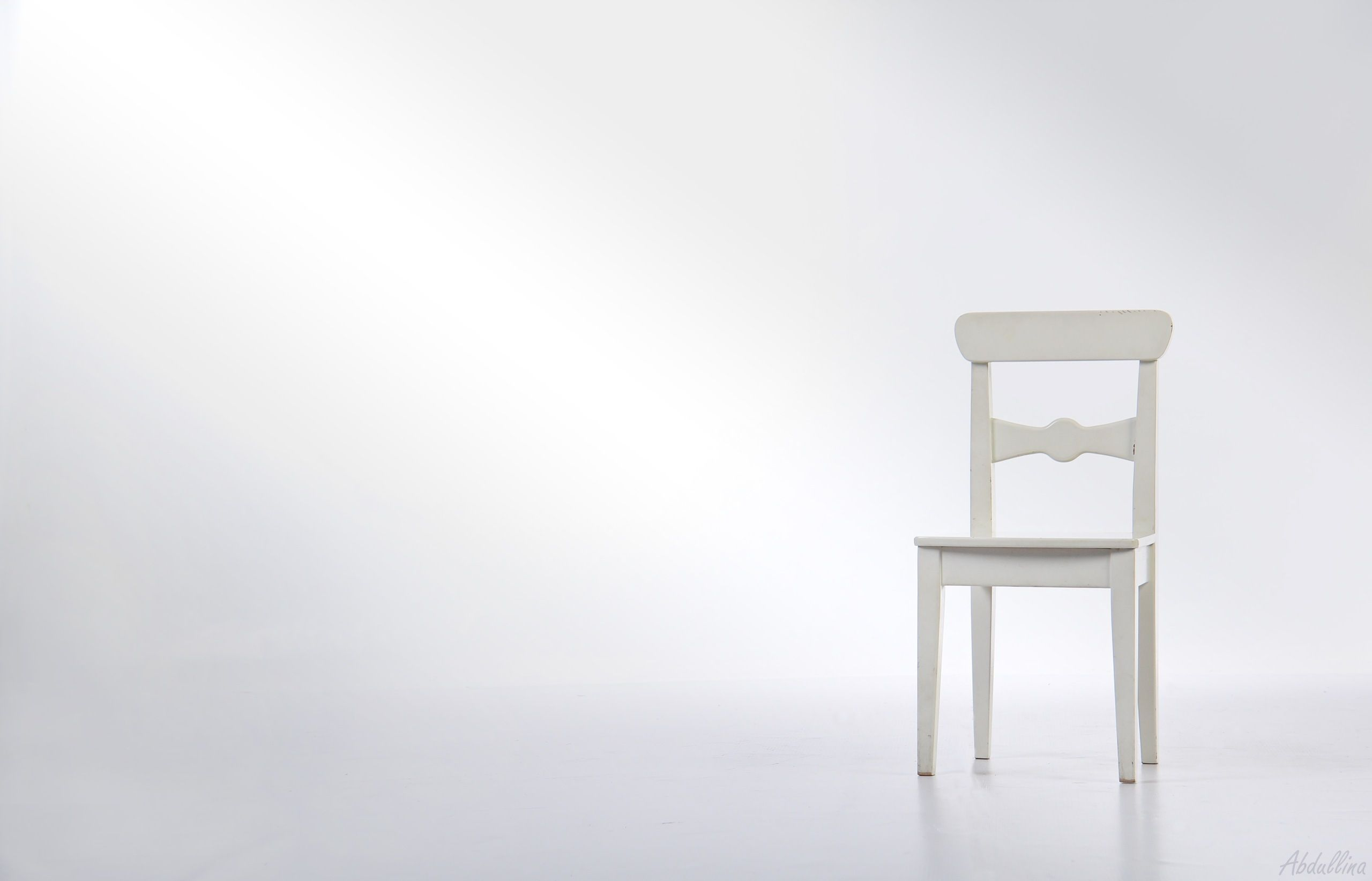 A white chair in a white room misc stuff wallpapers hd for White chair design