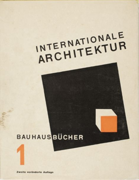 Bauhausbucher 1. Internationale Architektur