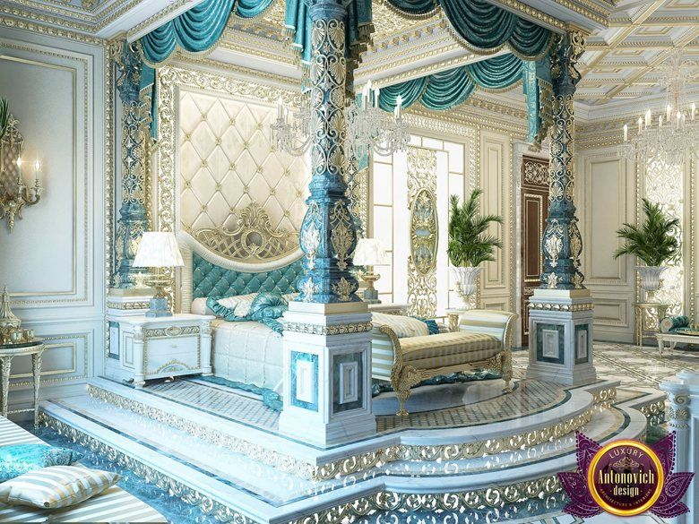Luxury interior bedroom of katrina antonovich katrina for Bedroom designs dubai