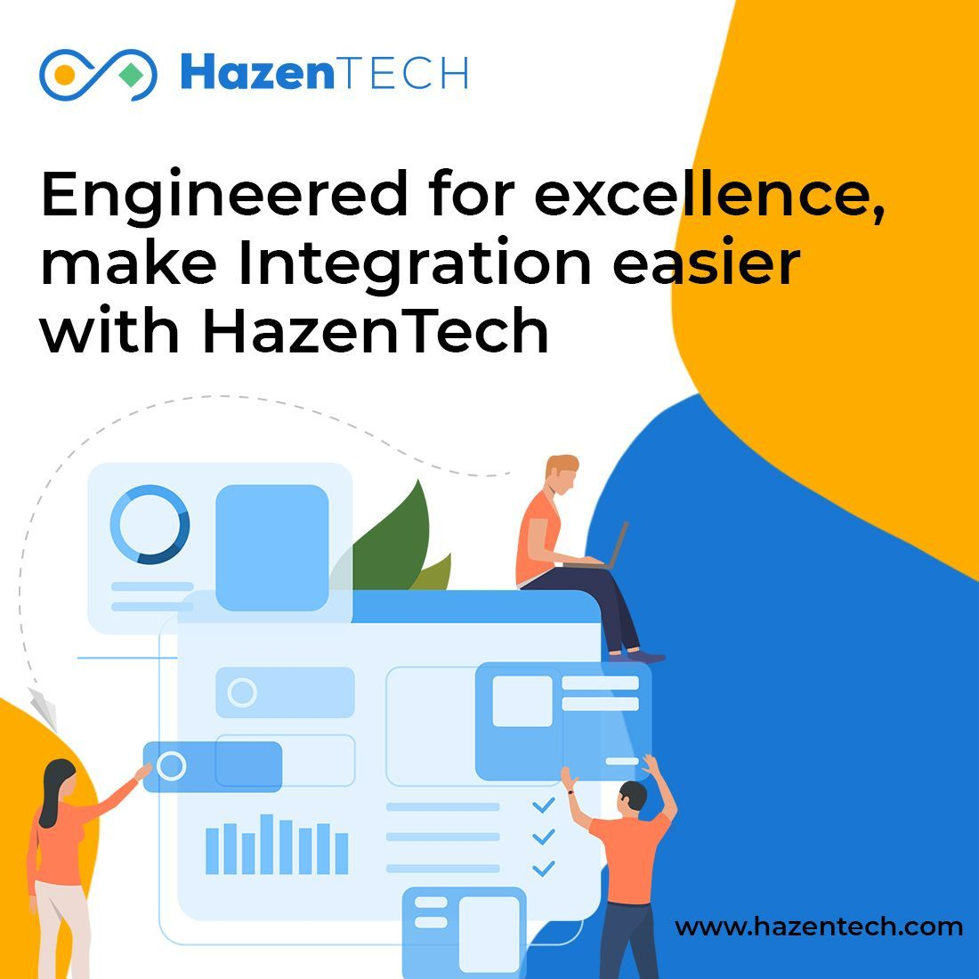Hazentech Integration Solutions And Services Can Help You Improve Your Operations Anywhere Enterprise Application Integration Enterprise Application Integrity