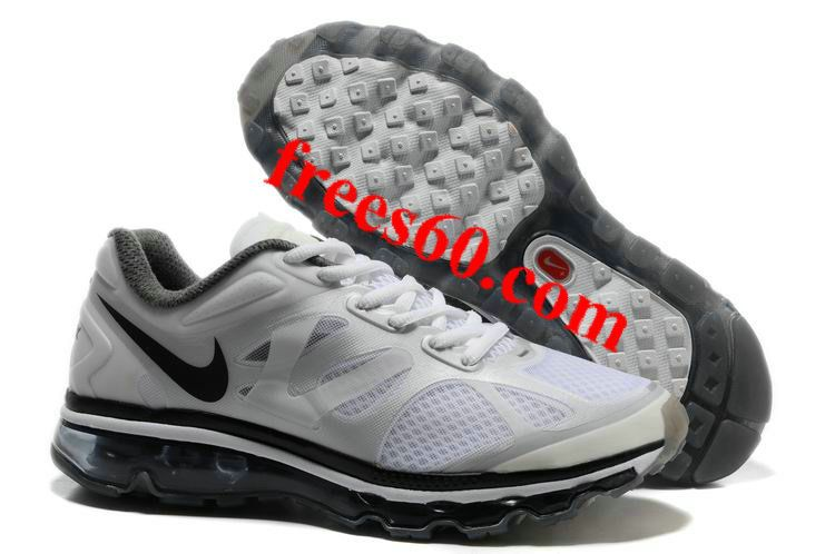 frees60.com for half off nike shoes $62.81 , Mens Nike Air Max 2012 Summit White Metallic Silver Anthracite Shoes