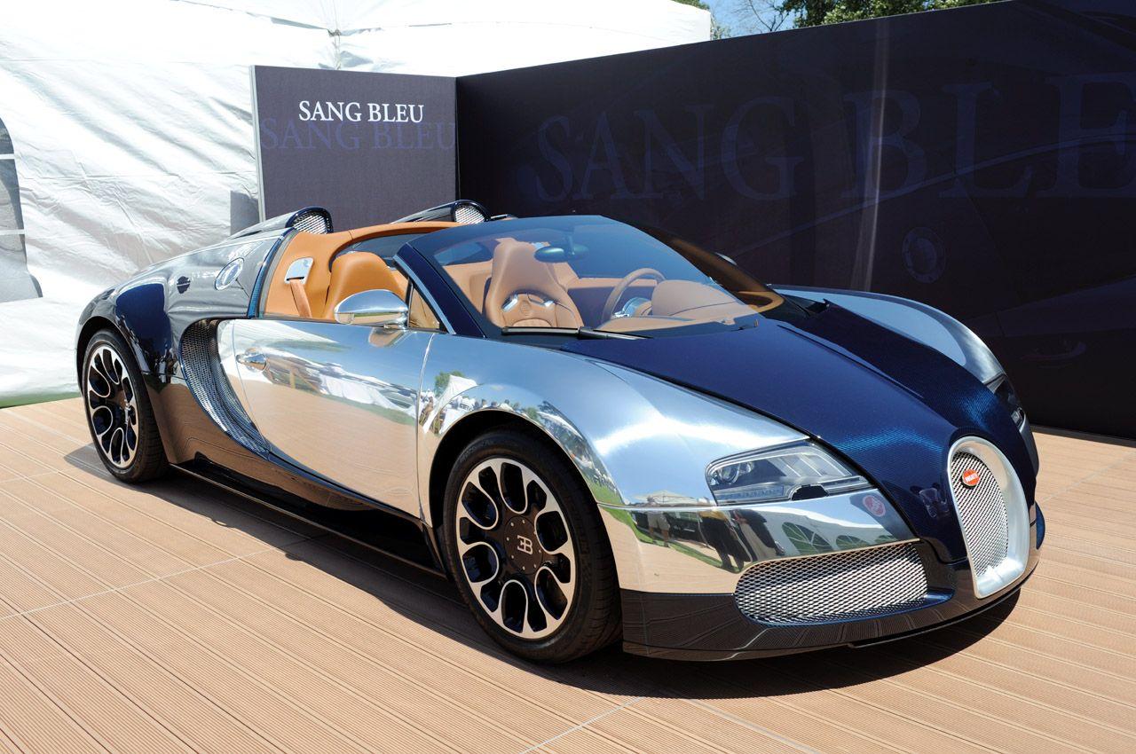 The Bugatti Veyron Sang Bleu Edition Is The Fastest Production Vehicle On The Planet Bugatti Veyron Bugatti Veyron