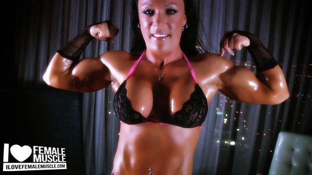 Bodybuilding women porn videos #4