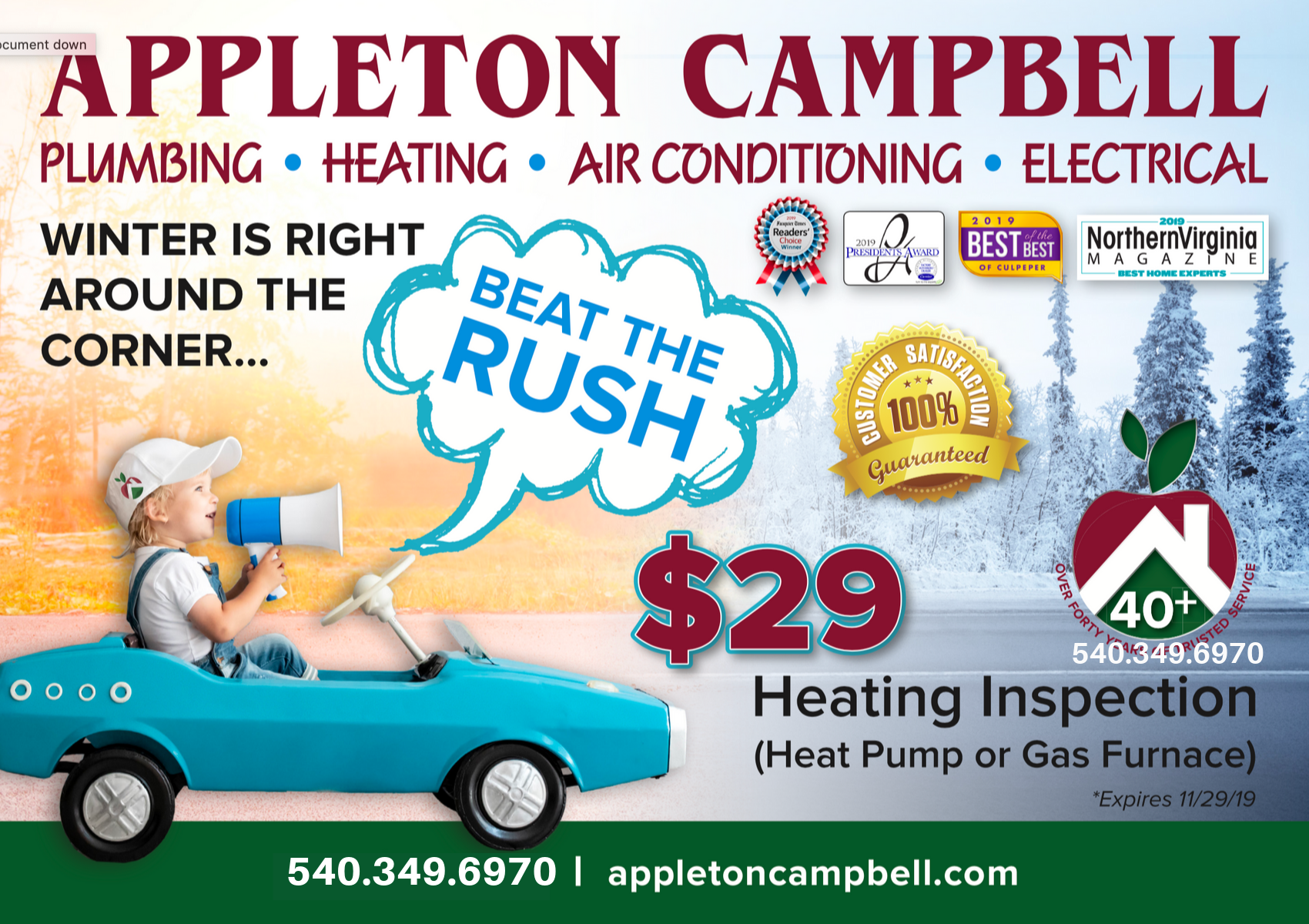 Virginia S Award Winning Plumbing Heating Air Electrical Specialists Trusted Over 40 Years Heating And Air Conditioning Hvac Heat Pump