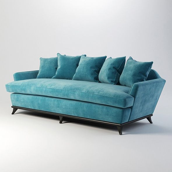 Vray Ready Modern Blue Fabric Sofa Blue Fabric Sofa Fabric Sofa Sofa Texture