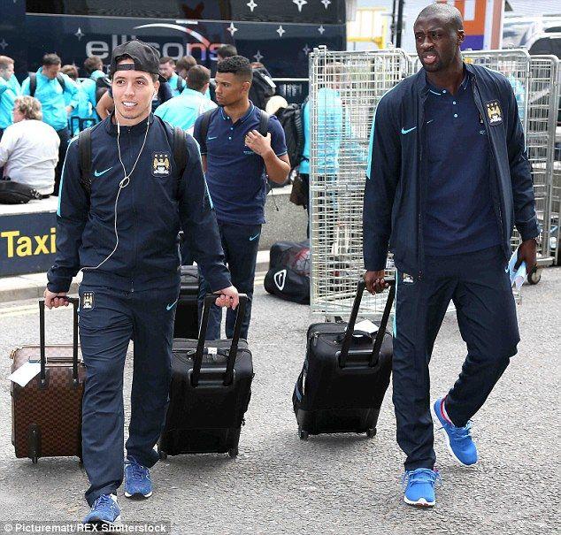 Manchester City jet off to Australia for pre-season tour | #City