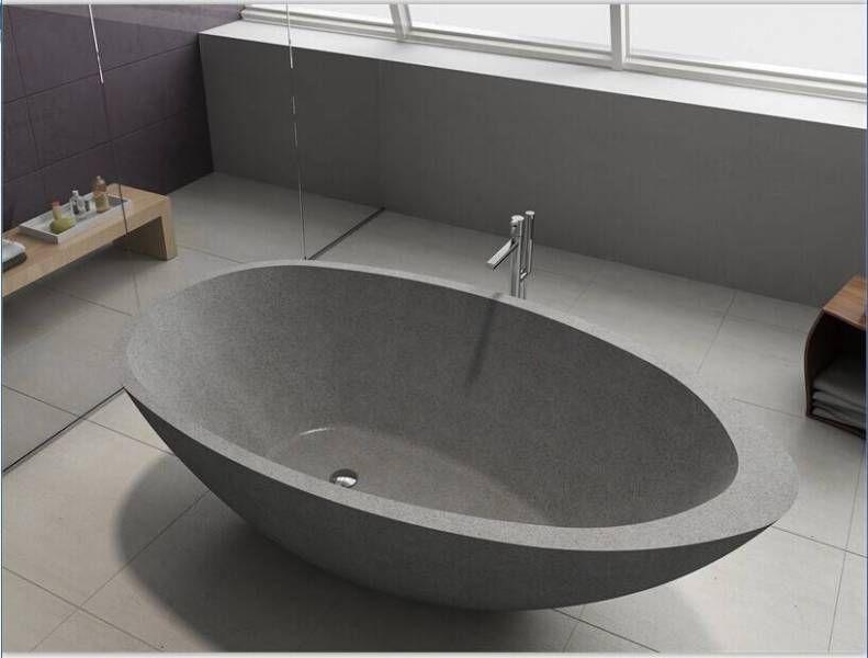 whitney designer freestanding stone bath bathtub   building