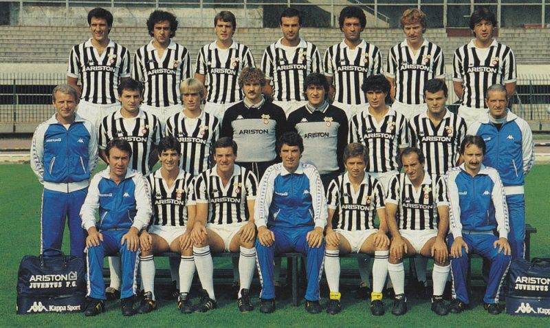 JUVENTUS DE TURIN 1983-84