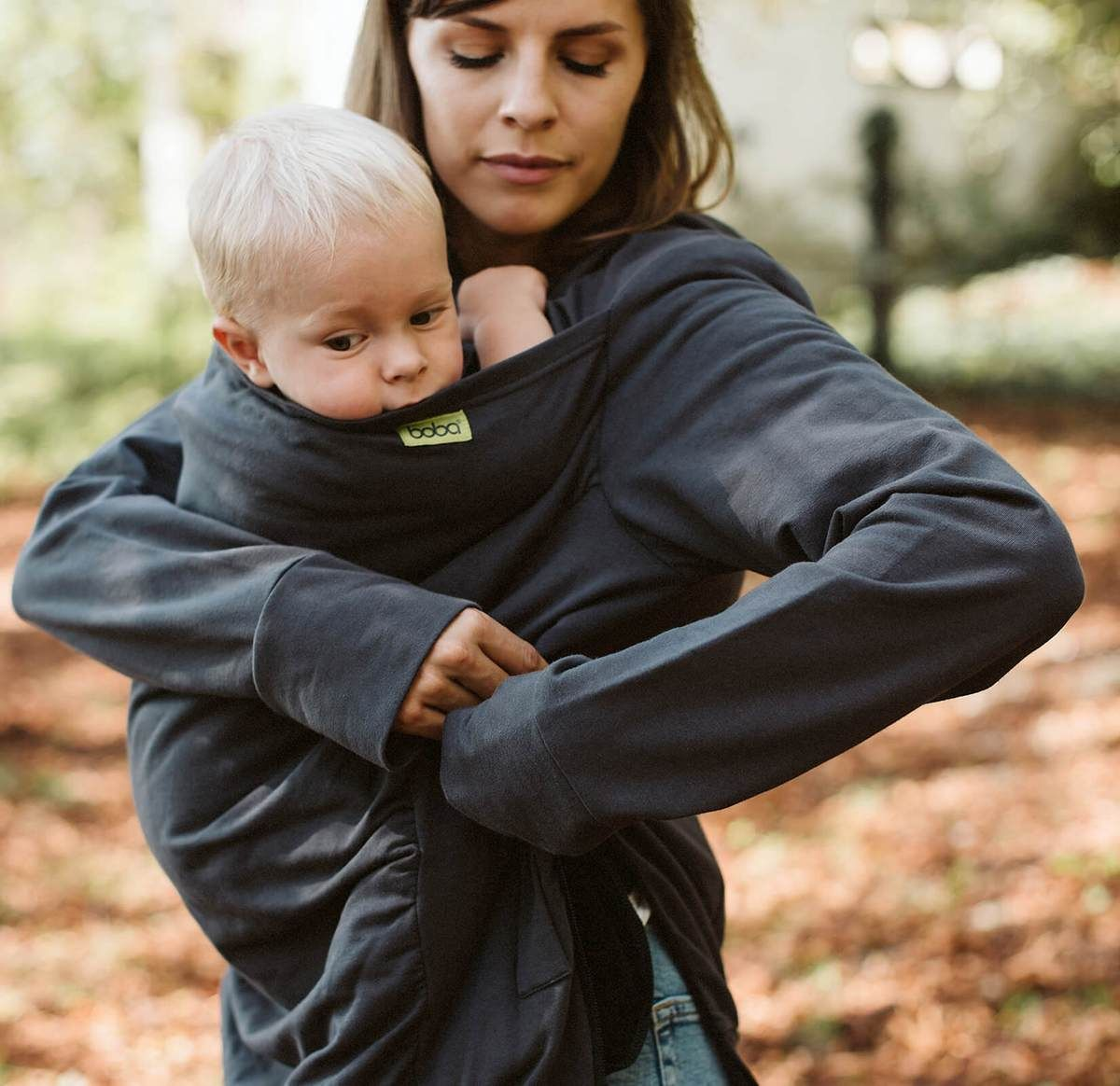 A Boba Hoodie Will Keep You And Your Baby Warm When Worn Over Your